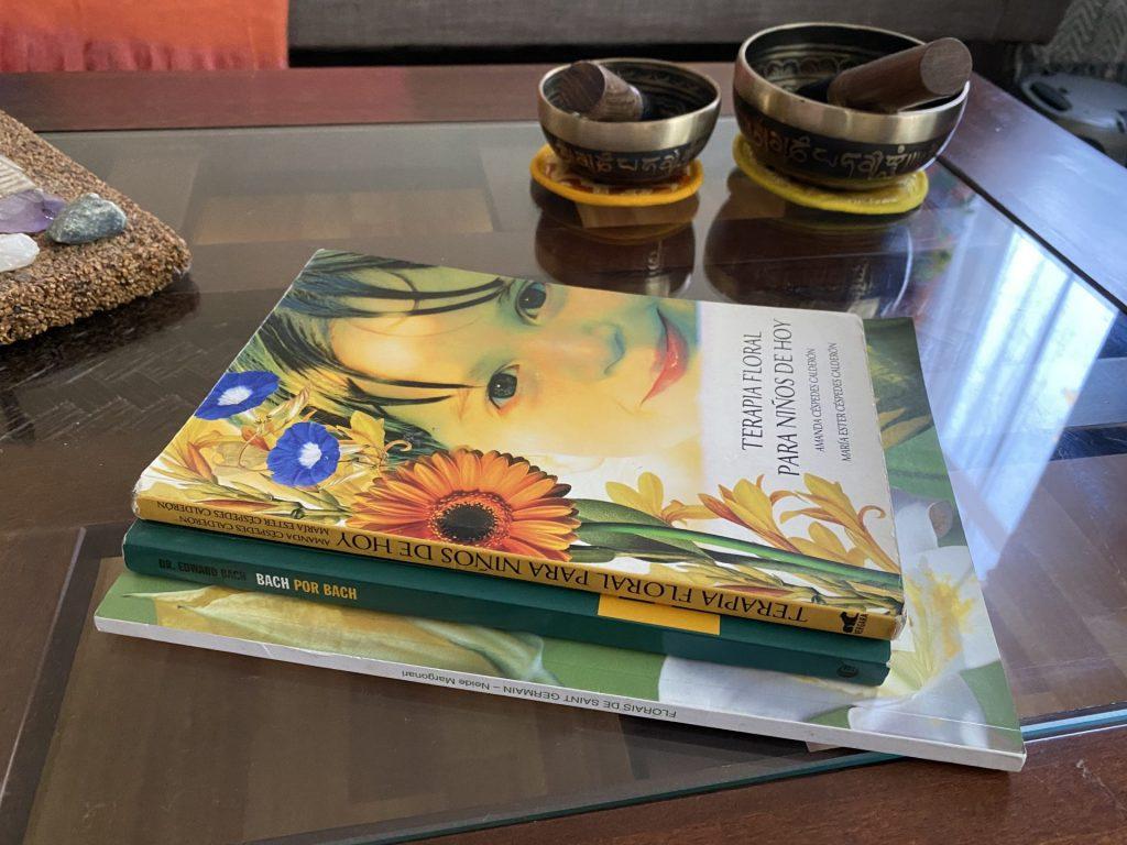 libro sobre flores de bach